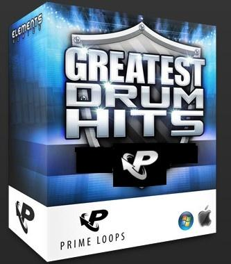 Greatest Drum Hits - большая библиотека ударных one-shot сэмплов