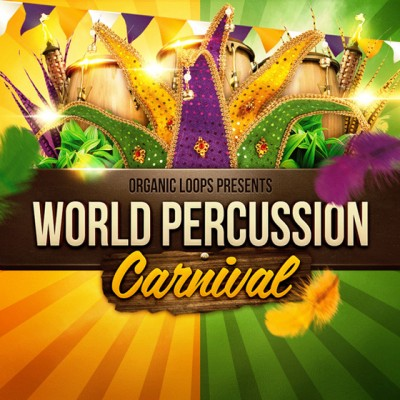 World Percussion Carnival - набор лупов и ван-шот сэмплов перкуссии