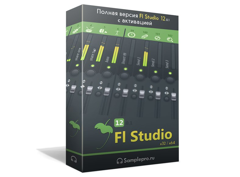 FL Studio Producer Edition 12.0.1 x86 x64 c активацией